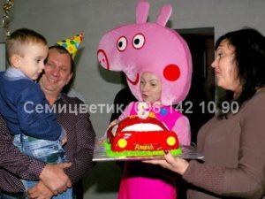 свинка Пеппа аниматоры на детский праздник Харьков