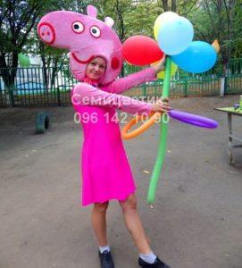 свинка Пеппа детский праздник